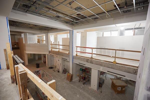 2019 UWL Winter Wittich Hall Construction  0005