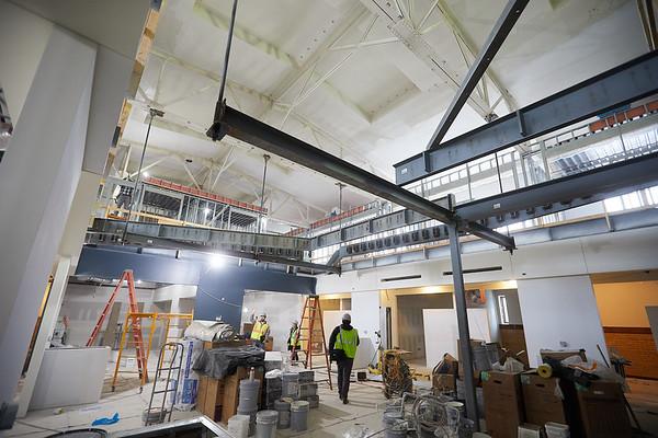 2019 UWL Winter Wittich Hall Construction  0046