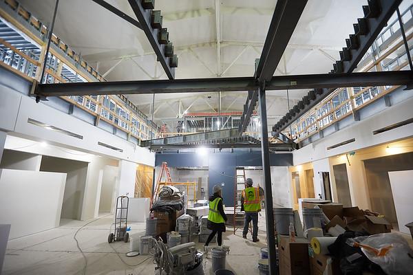2019 UWL Winter Wittich Hall Construction  0045