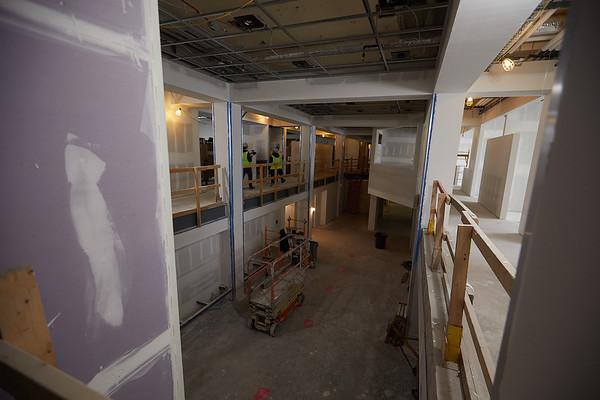 2019 UWL Winter Wittich Hall Construction  0011