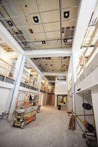 2019 UWL Winter Wittich Hall Construction  0032