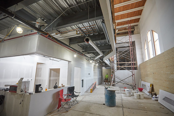 2019 UWL Winter Wittich Hall Construction  0040