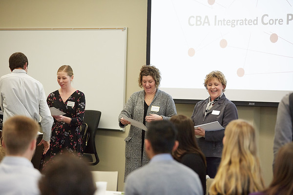 2019 UWL CBA Integrated Core Banquet and Reinhart Scholarship  0047