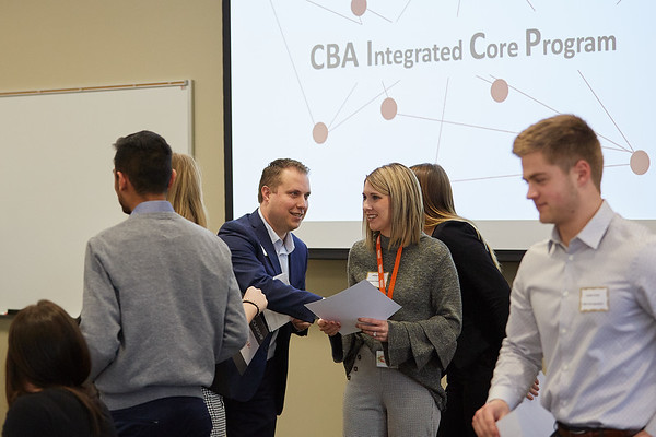 2019 UWL CBA Integrated Core Banquet and Reinhart Scholarship  0087