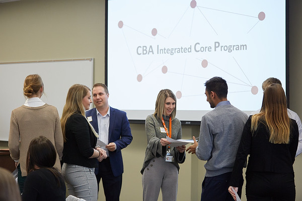 2019 UWL CBA Integrated Core Banquet and Reinhart Scholarship  0082