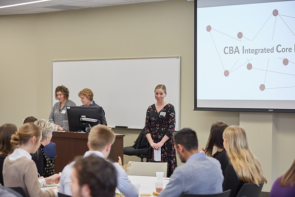 2019 UWL CBA Integrated Core Banquet and Reinhart Scholarship  0012