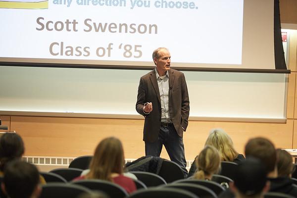 2020 UWL CBA First Friday Lecture Scott Swenson Alumni  0019