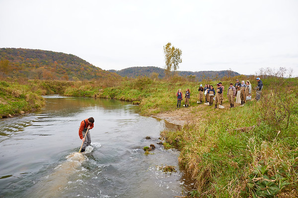2019 UWL Biology Coon Creek Field Trip Ross Vander Vorste 0085