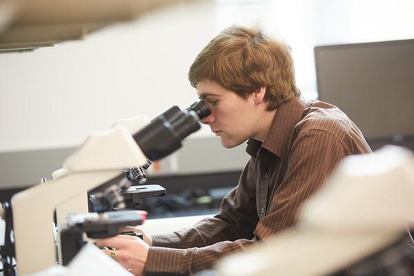 2020 UWL Geography Joan Bunbury Lab Core Samples Mud Lake 0033