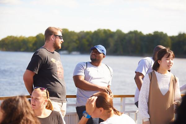 2019 UWL IEE Student La Crosse Queen Riverboat Tour 0088
