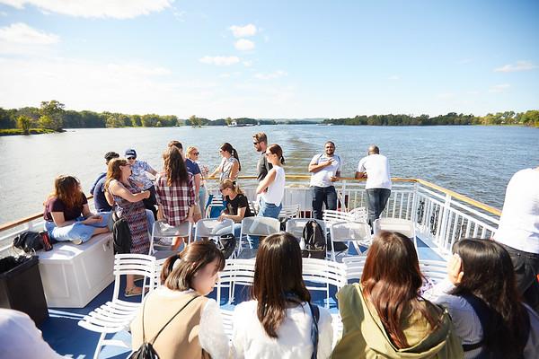 2019 UWL IEE Student La Crosse Queen Riverboat Tour 0072