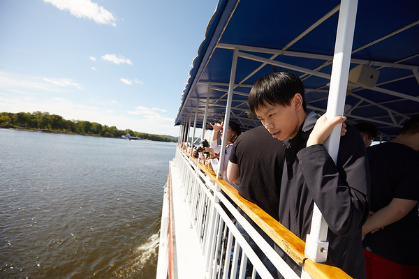 2019 UWL IEE Student La Crosse Queen Riverboat Tour 0009