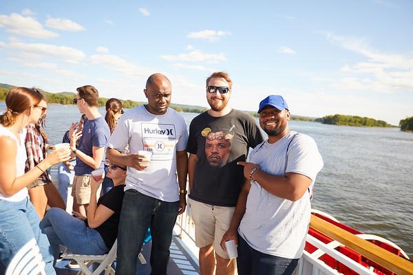 2019 UWL IEE Student La Crosse Queen Riverboat Tour 0079