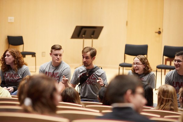 2020 UWL Music Band Wind Percussion Day 0066