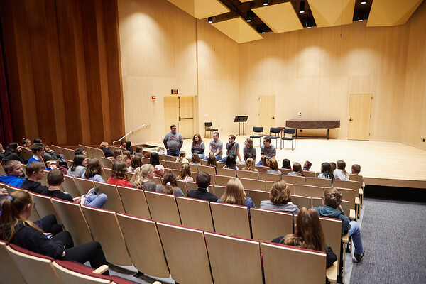 2020 UWL Music Band Wind Percussion Day 0040