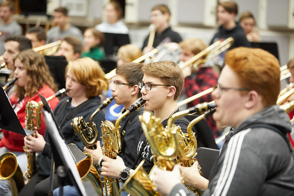 2020 UWL Music Band Wind Percussion Day 0106