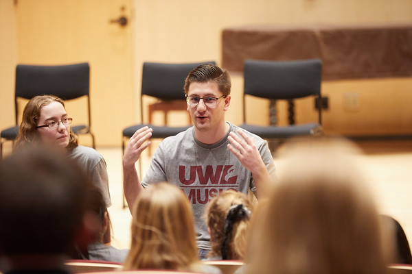 2020 UWL Music Band Wind Percussion Day 0048
