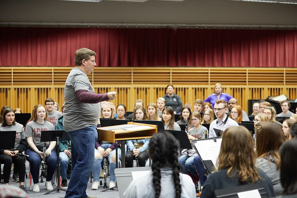2020 UWL Music Band Wind Percussion Day 0102