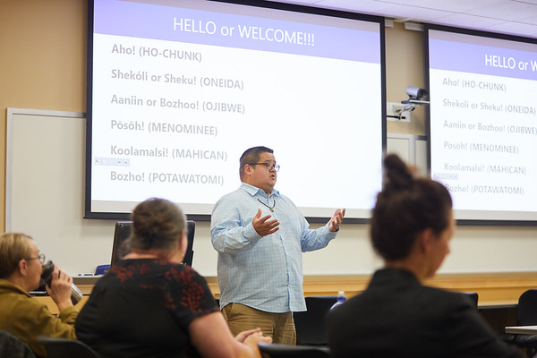 2019 UWL David O'Conner DPI American Indian Studies Program Consultant 0007
