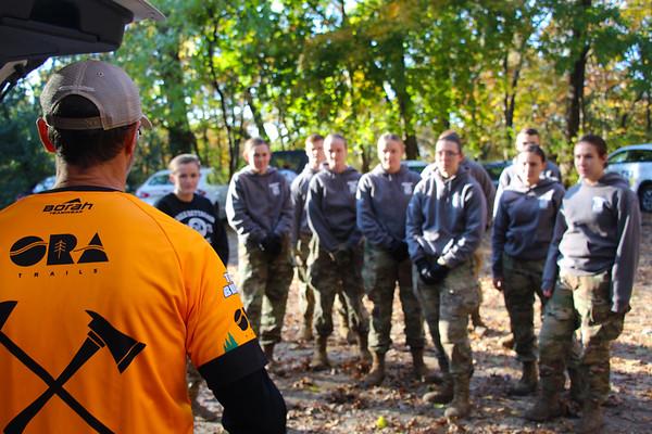 2019 UWL ROTC Students Bridge Build Hixon Forest 0001