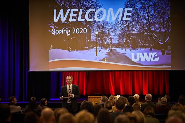 2020 UWL Chancellors Spring Address  0058