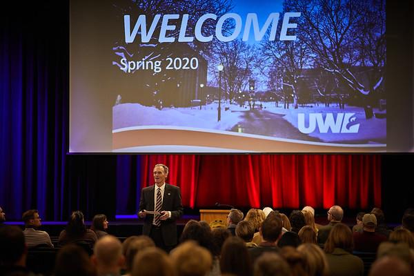 2020 UWL Chancellors Spring Address  0059