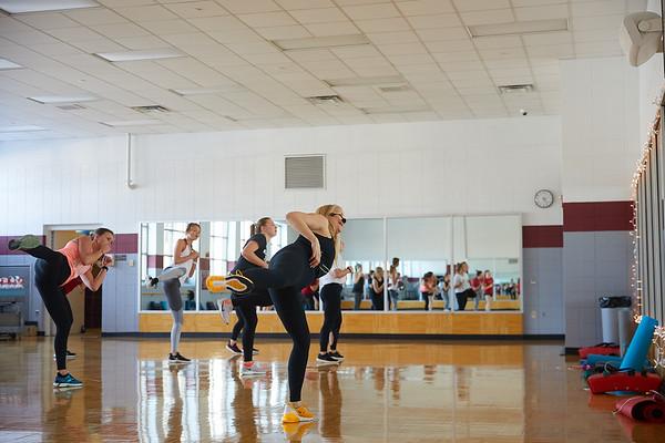 2020 UWL REC Fitness Programs Cardio Kickboxing 0492