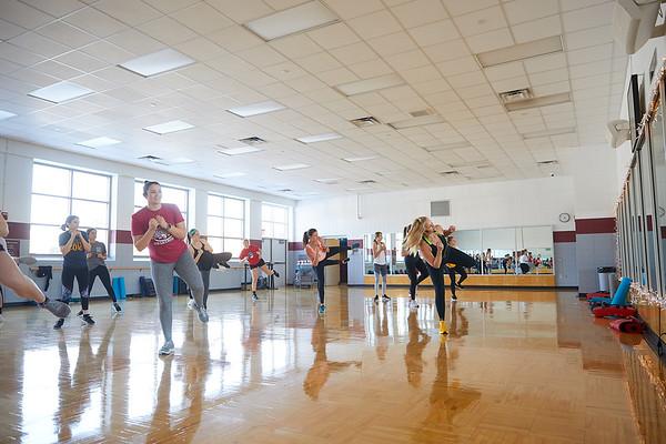 2020 UWL REC Fitness Programs Cardio Kickboxing 0495