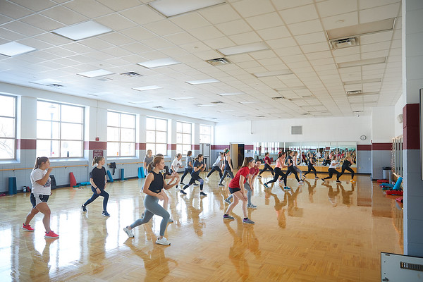 2020 UWL REC Fitness Programs Cardio Kickboxing 0531