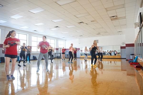 2020 UWL REC Fitness Programs Cardio Kickboxing 0509
