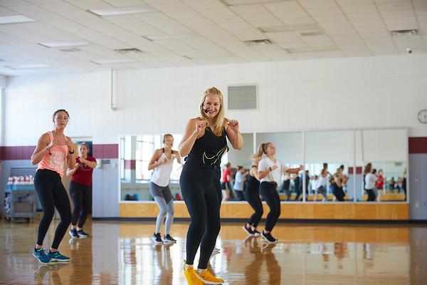 2020 UWL REC Fitness Programs Cardio Kickboxing 0503
