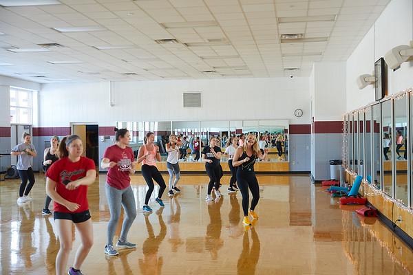 2020 UWL REC Fitness Programs Cardio Kickboxing 0538
