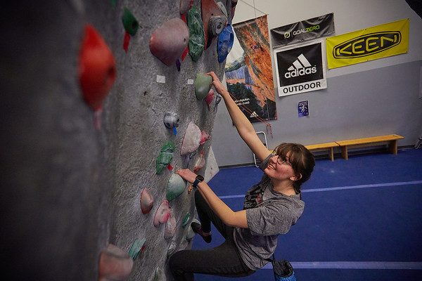 2020 UWL REC Women on the Wall Climbing Gym 0214