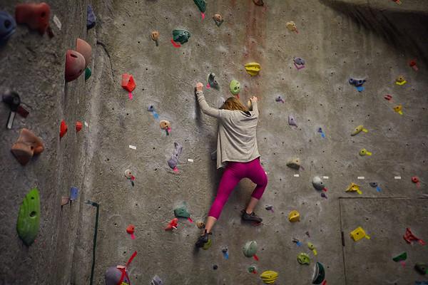 2020 UWL REC Women on the Wall Climbing Gym 0210
