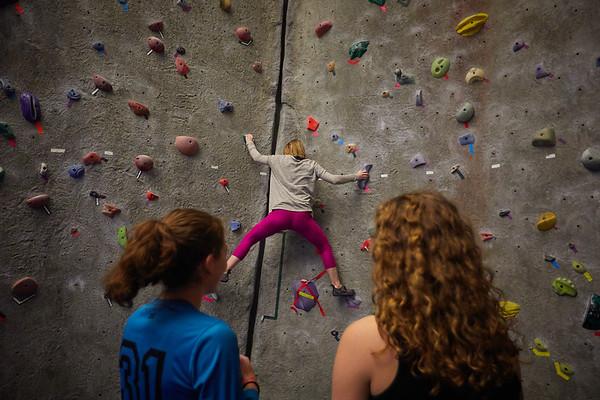 2020 UWL REC Women on the Wall Climbing Gym 0212