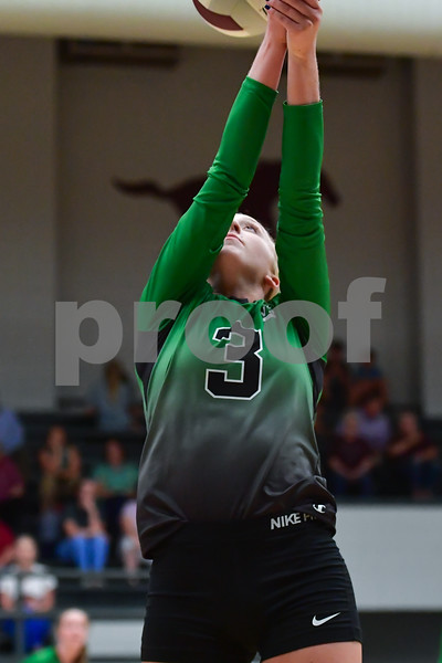 Valley Springs @ Perryville high school 3A volleyball .