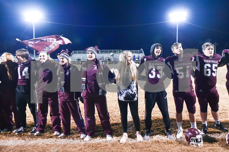 Mayflower @ Perryville.This was senior night and last home game of the year for Perryville