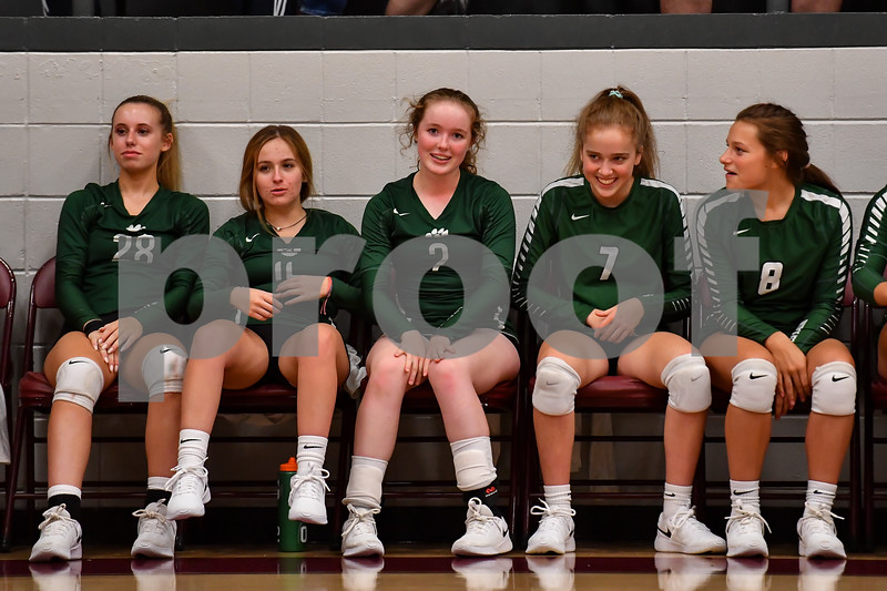 Perryville volleyball team vs Episcopal at the Perryville high schools gym