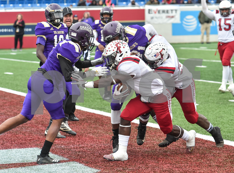 Fordyce vs Junction City in the 2A state football final. Game was played at the War Memorial Stadium in  Little Rock  Arkansas.