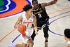 Florida Gators guard Tre Mann (1) as the Florida Gators mens basketball team hosted the Vanderbilt Commodores at Exacteh Arena in Gainesville, Florida.  February 15th, 2020. Gator Country Photo by David Bowie.