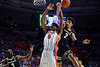 Florida Gators forward Omar Payne (5) as the Florida Gators mens basketball team hosted the Vanderbilt Commodores at Exacteh Arena in Gainesville, Florida.  February 15th, 2020. Gator Country Photo by David Bowie.