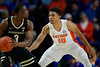 Florida Gators guard Noah Locke (10) as the Florida Gators mens basketball team hosted the Vanderbilt Commodores at Exacteh Arena in Gainesville, Florida.  February 15th, 2020. Gator Country Photo by David Bowie.