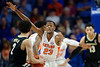 Florida Gators guard Scottie Lewis (23) as the Florida Gators mens basketball team hosted the Vanderbilt Commodores at Exacteh Arena in Gainesville, Florida.  February 15th, 2020. Gator Country Photo by David Bowie.