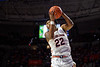 Auburn Tigers guard Allen Flanigan (22) as the Florida Gators mens basketball team defeats the #4 Auburn Tigers 69-47 at Exacteh Arena in Gainesville, Florida.  January 18th, 2020. Gator Country Photo by David Bowie.