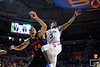 Florida Gators forward Kerry Blackshear Jr. (24) as the Florida Gators mens basketball team defeats the #4 Auburn Tigers 69-47 at Exacteh Arena in Gainesville, Florida.  January 18th, 2020. Gator Country Photo by David Bowie.