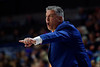 Auburn Tigers head coach Bruce Pearl as the Florida Gators mens basketball team defeats the #4 Auburn Tigers 69-47 at Exacteh Arena in Gainesville, Florida.  January 18th, 2020. Gator Country Photo by David Bowie.