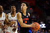 Florida Gators guard Andrew Nembhard (2) as the Florida Gators mens basketball team defeats the #4 Auburn Tigers 69-47 at Exacteh Arena in Gainesville, Florida.  January 18th, 2020. Gator Country Photo by David Bowie.