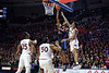 Florida Gators guard Scottie Lewis (23) as the Florida Gators mens basketball team defeats the #4 Auburn Tigers 69-47 at Exacteh Arena in Gainesville, Florida.  January 18th, 2020. Gator Country Photo by David Bowie.