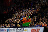 The Rowdy Reptiles play along with the band as the Florida Gators mens basketball team defeats the #4 Auburn Tigers 69-47 at Exacteh Arena in Gainesville, Florida.  January 18th, 2020. Gator Country Photo by David Bowie.