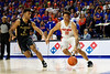 Florida Gators forward Keyontae Johnson (11) during the second half as the #6 Florida Gators mens basketball team hosted the Florida State Seminoles at Exacteh Arena in Gainesville, Florida.  November 10th, 2019. Gator Country Photo by David Bowie.